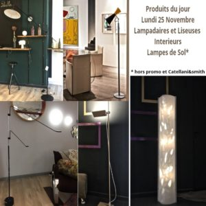5-Lampadaires et liseuses Interieures